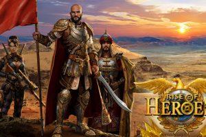 игра в браузере Rise of Heroes
